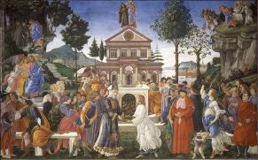 Prove di Cristo (1480-82, Roma, Cappella Sistina)