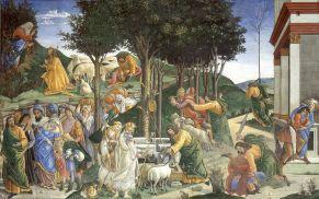 Prove di Mosè (1480-82, Roma, Cappella Sistina)