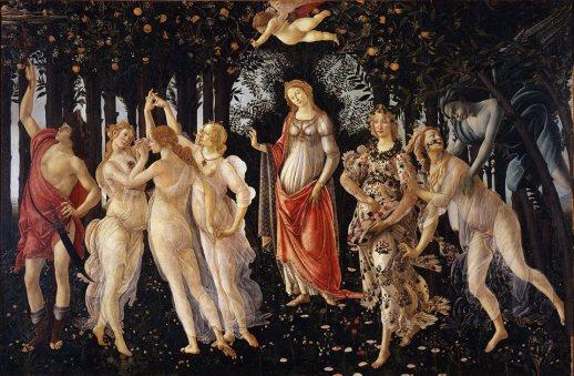 Primavera / Spring (1478-82, Firenze, Uffizi)