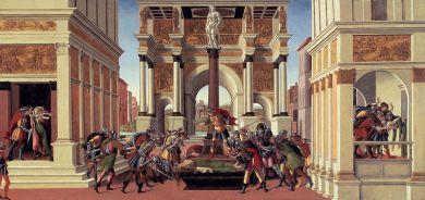 Storie di Lucrezia / The Story of Lucretia (1498 ca., Boston, Isabella Stewart Gardner Museum)