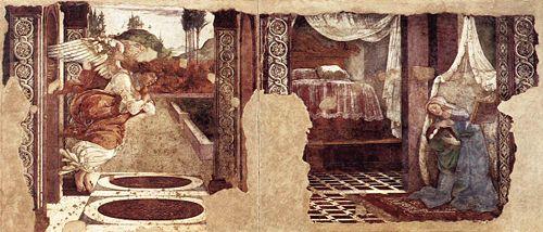 Annunciazione di San Martino alla Scala (1481, Firenze, Uffizi)