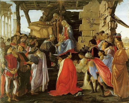 Adorazione dei Magi / Adoration of the Magi (1475, Firenze, Uffizi)
