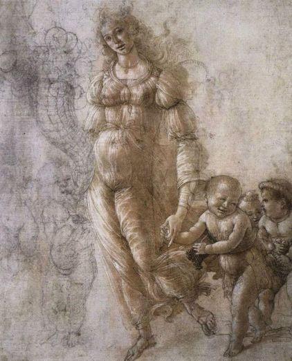Allegoria dell'Abbondanza (1480-85, Londra, British Museum)