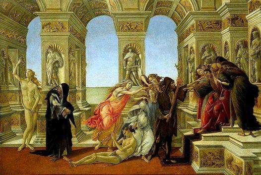 La Calunnia / The Calumny (1494, Firenze, Uffizi)