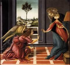 Annunciazione di Cestello (1489-90, Firenze, Uffizi)