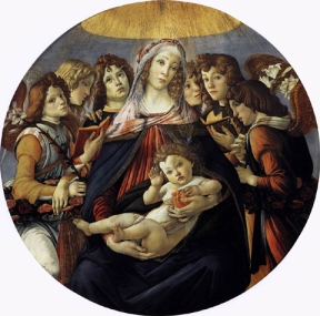 Madonna della Melagrana / Virgin of the Pomegranate (1487, Firenze, Uffizi)