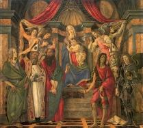 Pala di San Barnaba (1487, Firenze, Uffizi)