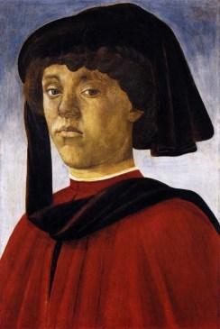 Ritratto di giovane / Portrait of a Young Man (1470 ca., Firenze, Galleria Palatina, Palazzo Pitti)
