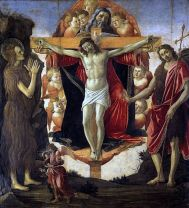 Pala delle Convertite / Holy Trinity (1491-93, Londra, Courtauld Gallery)