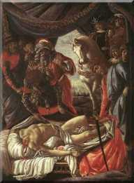Scoperta del cadavere di Oloferne (1472, Firenze, Uffizi)