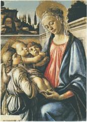 Madonna con Bambino e due angeli / Madonna with Child and Two Angels (1468-69, Napoli, Museo di Capodimonte)