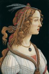 Ritratto di Simonetta Vespucci (1480-85, Frankfurt, Städel)