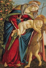 Madonna col Bambino e San Giovannino (1495 ca., Firenze, Galleria Palatina, Palazzo Pitti)