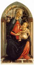 Madonna del Roseto (1469-70, Firenze, Uffizi)