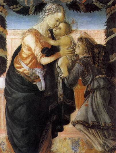 Madonna con Bambino e un angelo / Madonna with Child and an Angel (Ajaccio, Museo Fesch)
