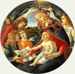 Madonna del Magnificat (1481, Firenze, Uffizi)