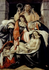 Compianto sul Cristo Morto / Lamentation over the Dead Christ (1495-1500, Milano, Museo Poldi Pezzoli)