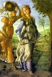 Ritorno di Giuditta a Betulia (1472, Firenze, Uffizi)