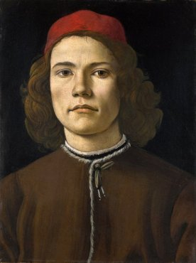 Ritratto di giovane / Portrait of a Young Man (1483-84, Londra, National Gallery)
