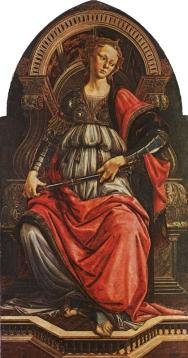 Fortezza / Fortitude (1470, Firenze, Uffizi)