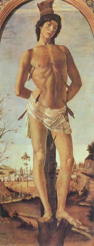 San Sebastiano (1473, Berlino, Gemäldegalerie)