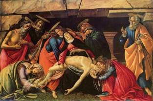 Compianto sul Cristo morto / Lamentation over the Dead Christ (1495, Monaco, Alte Pinakothek)