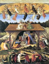 Natività Mistica / Mystical Nativity (1501, Londra, National Gallery)