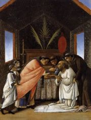 Ultima Comunione di S. Girolamo /Last Communion of St. Jerome (1495 ca., New York, Metropolitan Museum)