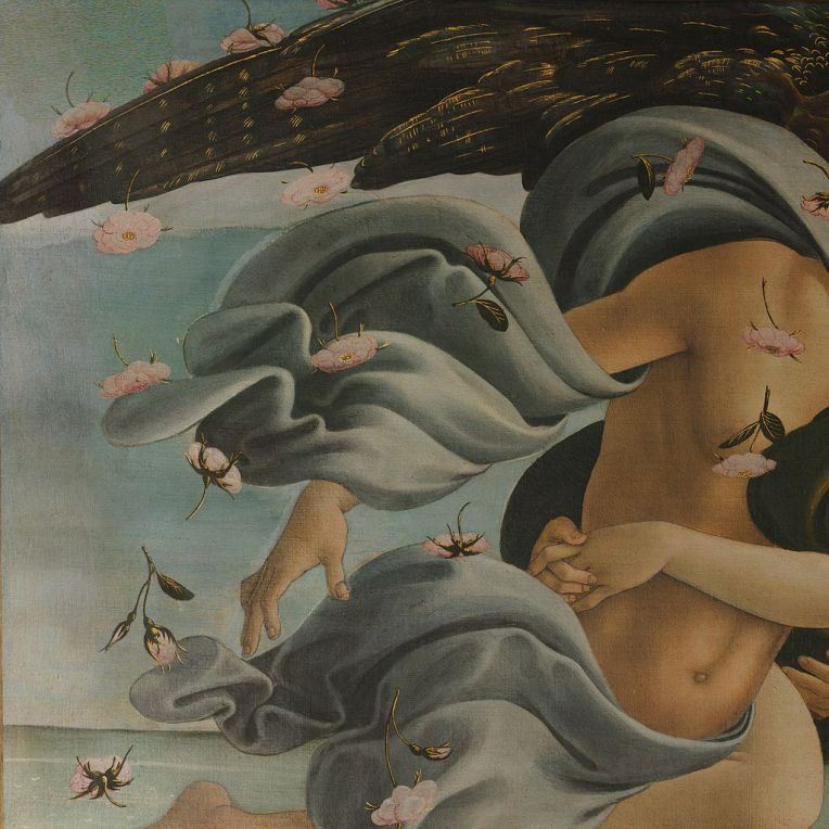 Sandro Botticelli - The Birth of Venus, 1485 (15)